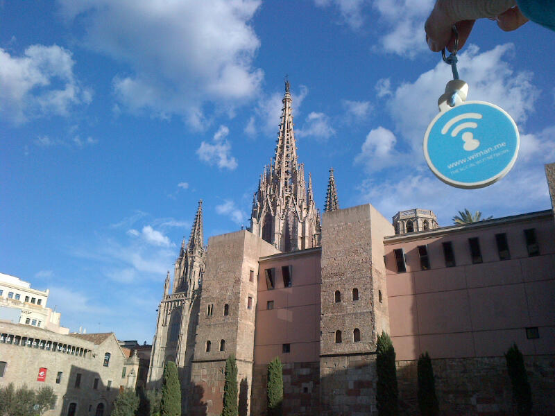 The free wifi invades Barcelona
