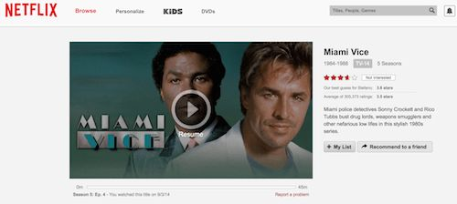 Netflix changed my habits