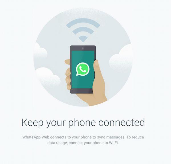 WhatsApp is available on desktop