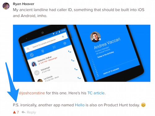 The day we launched a new app on Product Hunt 2
