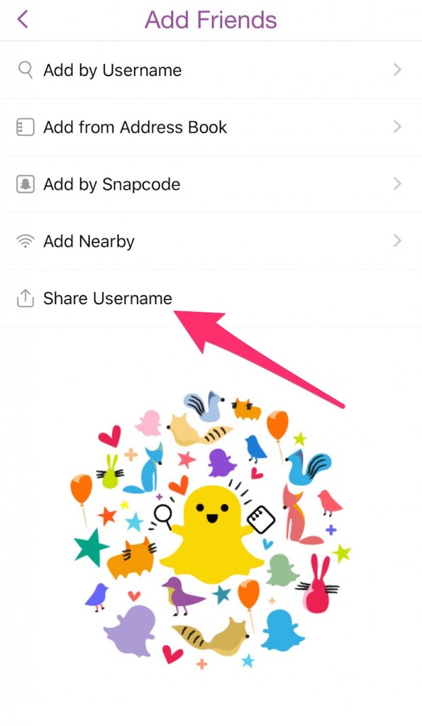 come aumentare il punteggio su snapchat - nome utente