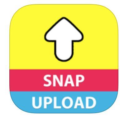 come caricare immagini su snapchat