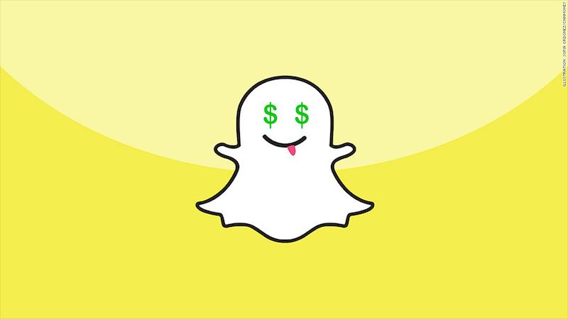 come guadagnare con Snapchat