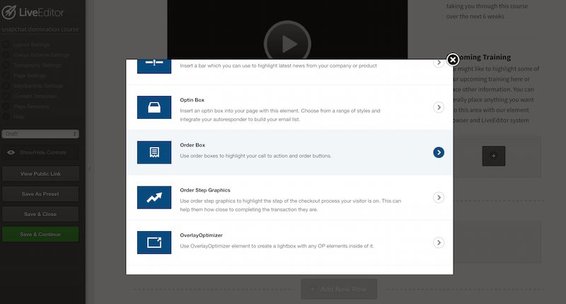 Meglio ClickFunnels o OptimizePress - Optimizepress