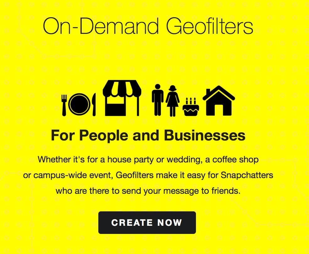 come creare filtri personalizzati snapchat